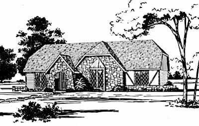 European Style Floor Plans Plan: 18-249