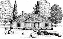 Country Style Floor Plans Plan: 18-252
