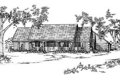 Ranch Style Floor Plans Plan: 18-253