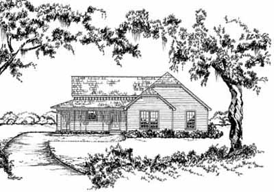 Farm Style House Plans Plan: 18-261