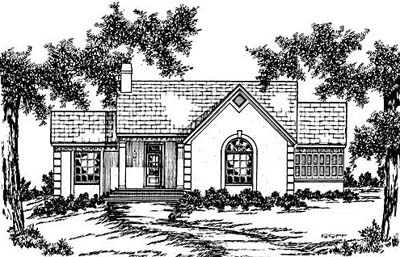 Southern Style House Plans Plan: 18-263
