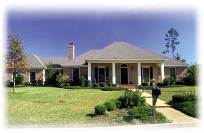 Southern Style House Plans Plan: 18-266