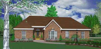 Ranch Style Floor Plans Plan: 18-268