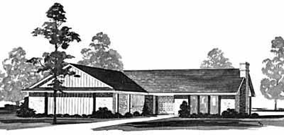 Ranch Style Floor Plans Plan: 18-271
