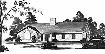 Ranch Style Floor Plans Plan: 18-274