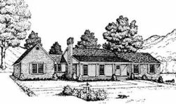 Country Style Floor Plans Plan: 18-281