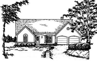 Traditional Style House Plans Plan: 18-284