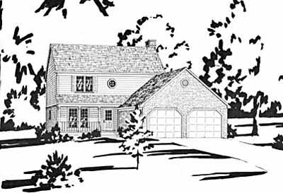 Farm Style House Plans Plan: 18-285