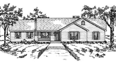 Ranch Style Floor Plans Plan: 18-287