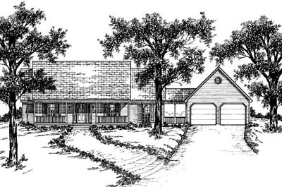 Country Style Floor Plans 18-288
