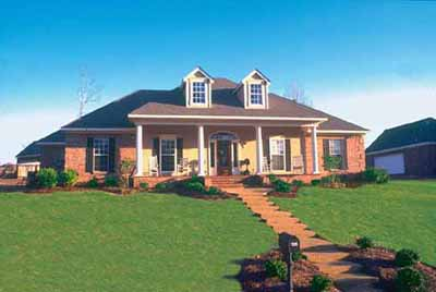 Southern Style Floor Plans Plan: 18-296