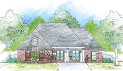Southern Style Floor Plans Plan: 18-300