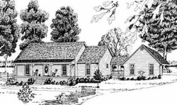 Country Style Floor Plans Plan: 18-305