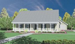 Country Style House Plans Plan: 18-306