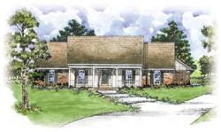 Country Style Home Design Plan: 18-309