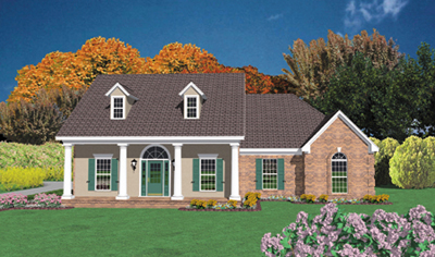 Southern Style Floor Plans Plan: 18-312