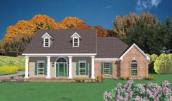 Southern Style House Plans Plan: 18-312