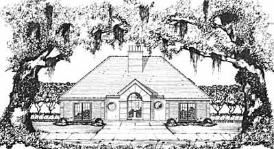 European Style Floor Plans Plan: 18-314