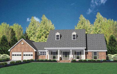 Country Style House Plans Plan: 18-315