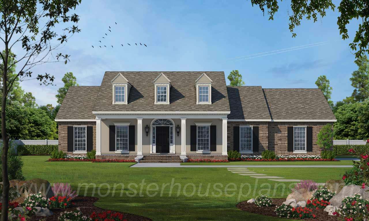 Country Style House Plans Plan: 18-317