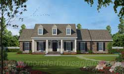 Country Style House Plans 18-317