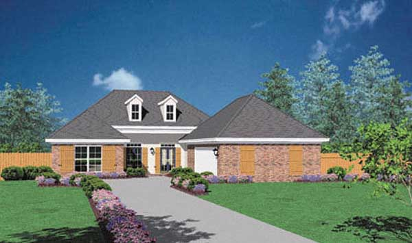 Southern Style House Plans Plan: 18-324