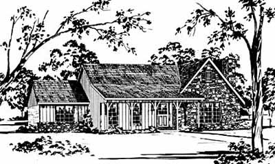Country Style House Plans Plan: 18-328