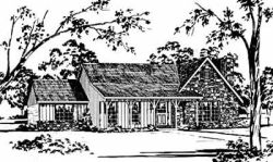 Country Style Floor Plans Plan: 18-328