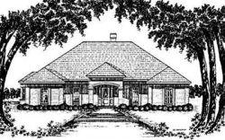 Mediterranean Style House Plans Plan: 18-330