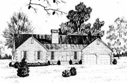 Ranch Style House Plans Plan: 18-332