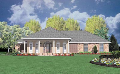Southern Style House Plans Plan: 18-333