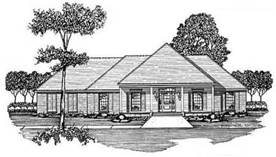 Southern Style House Plans Plan: 18-340