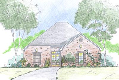 French-country Style House Plans Plan: 18-349