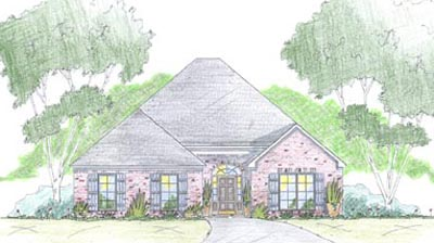 Southern Style Floor Plans Plan: 18-350