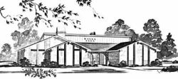 Contemporary Style House Plans Plan: 18-351