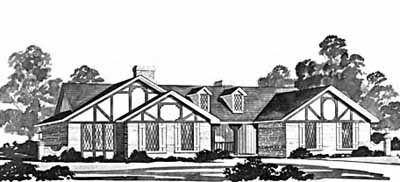 Ranch Style House Plans Plan: 18-352