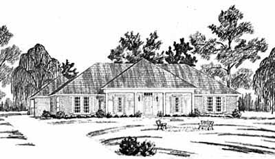 Ranch Style House Plans Plan: 18-355