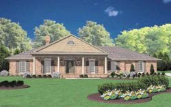 Southern Style House Plans Plan: 18-356