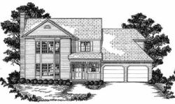 Traditional Style Home Design Plan: 18-357