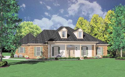 Southern Style Floor Plans Plan: 18-359