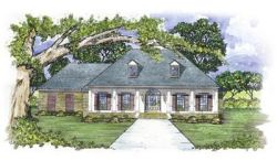 French-Country Style House Plans 18-366