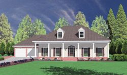 Southern Style House Plans Plan: 18-367