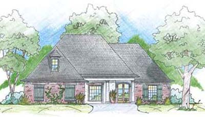 French-country Style House Plans Plan: 18-369