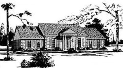 Georgian Style House Plans Plan: 18-374