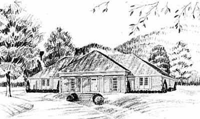 Southern Style House Plans Plan: 18-376