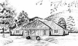 Southern Style Floor Plans Plan: 18-376
