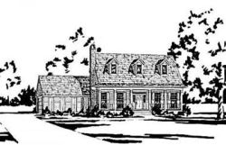 Country Style Floor Plans Plan: 18-377