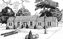 Early-American Style Floor Plans Plan: 18-379