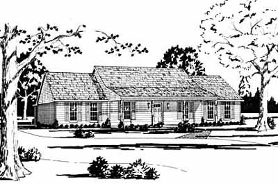 Country Style House Plans Plan: 18-381
