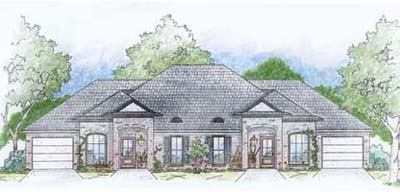 Traditional Style Home Design Plan: 18-393